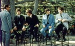 The Beatles Sitting Together